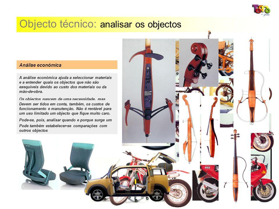 Objecto técnico: analisar os objectos