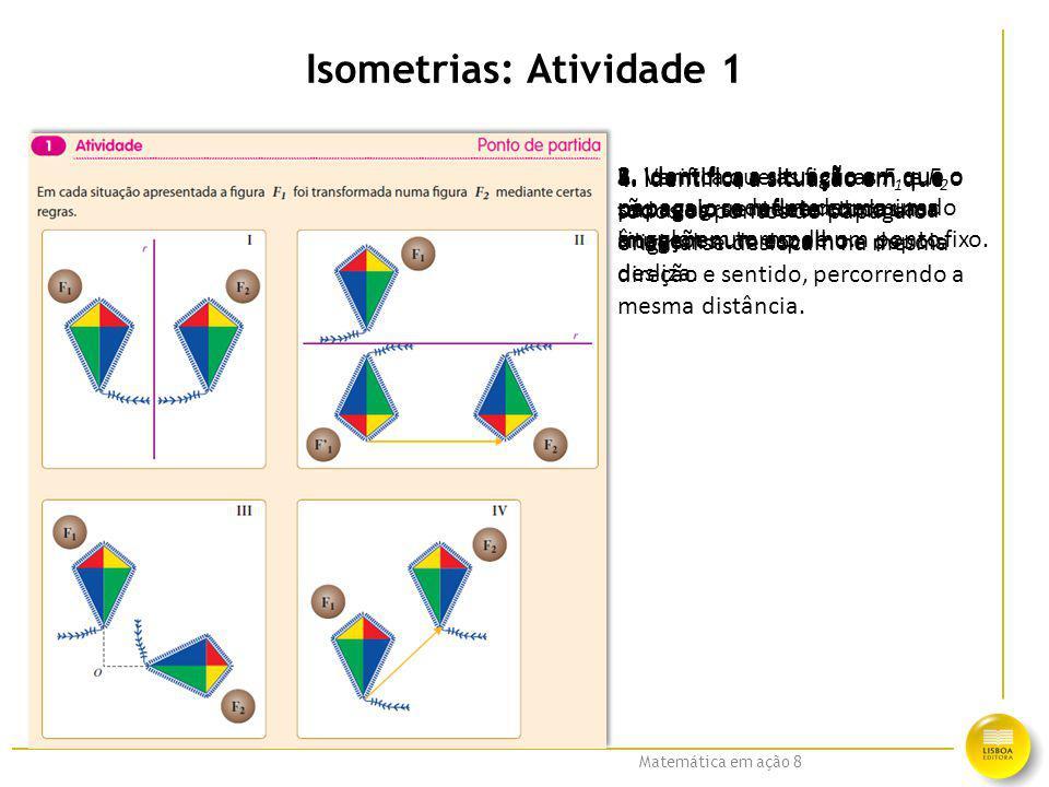 Isometrias: Atividade 1