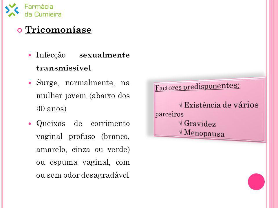 Tricomoníase Infecção sexualmente transmissível