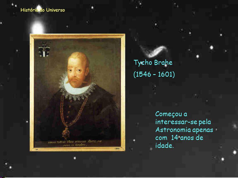 Começou a interessar-se pela Astronomia apenas com 14 anos de idade.