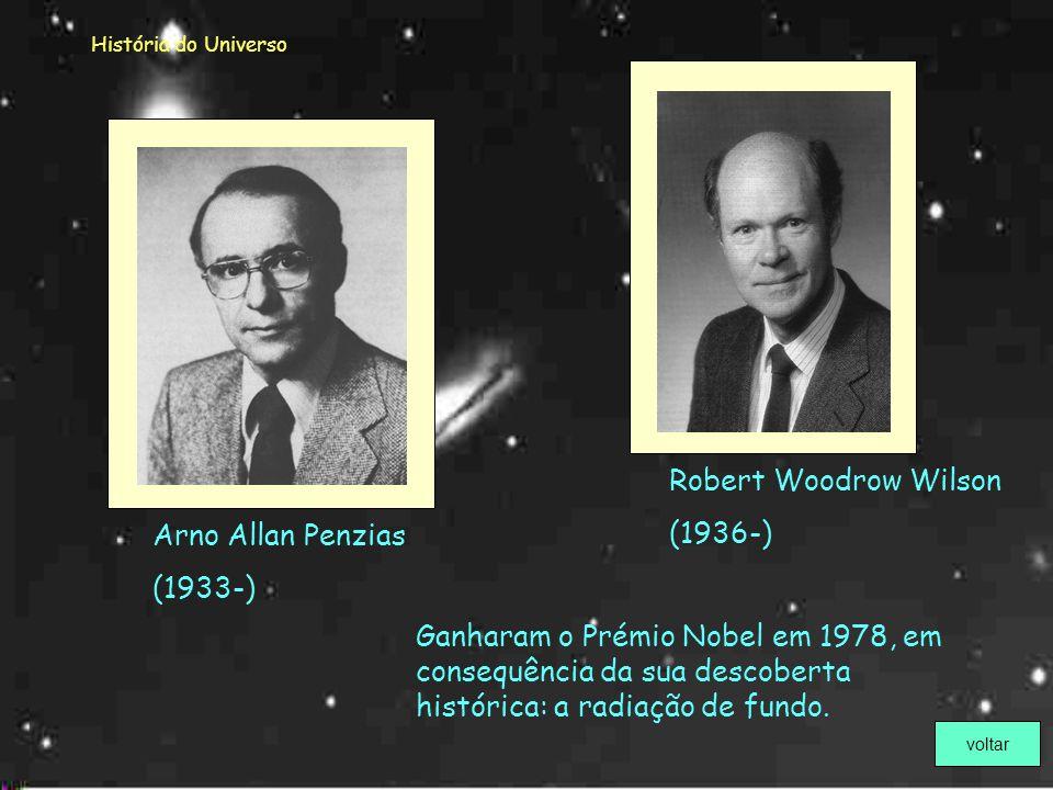 Robert Woodrow Wilson (1936-) Arno Allan Penzias (1933-)