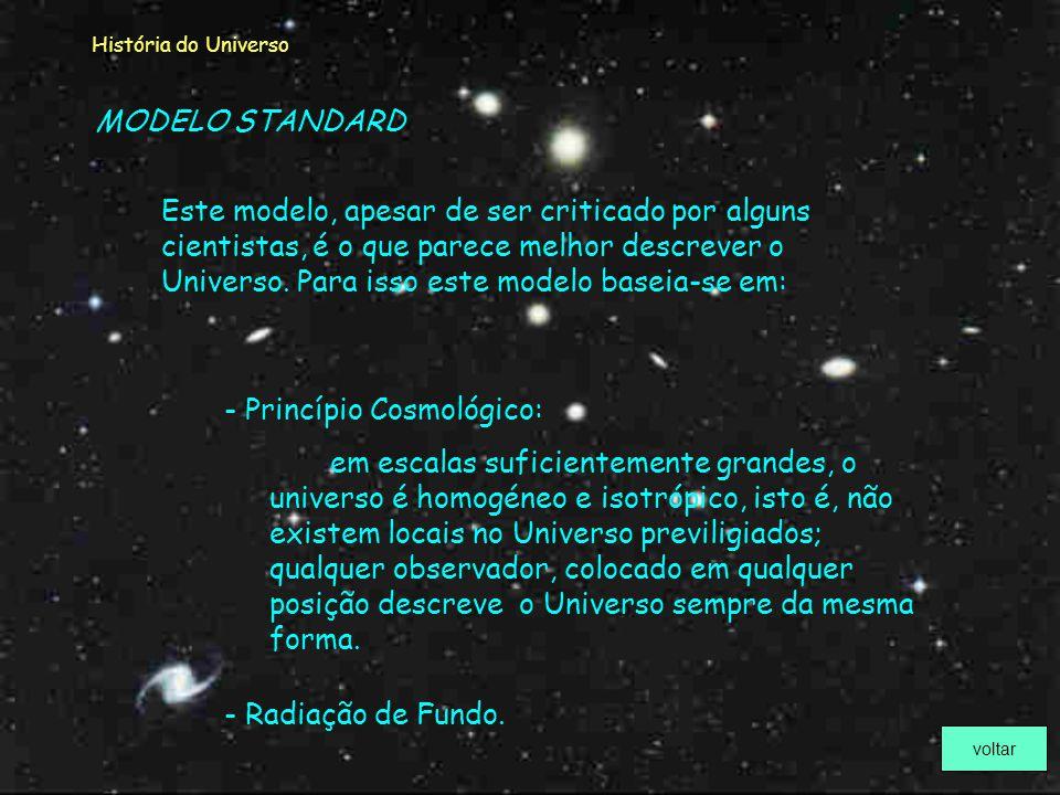 Princípio Cosmológico: