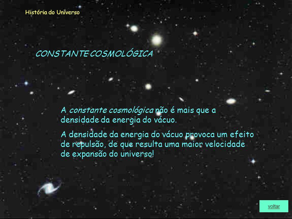 CONSTANTE COSMOLÓGICA