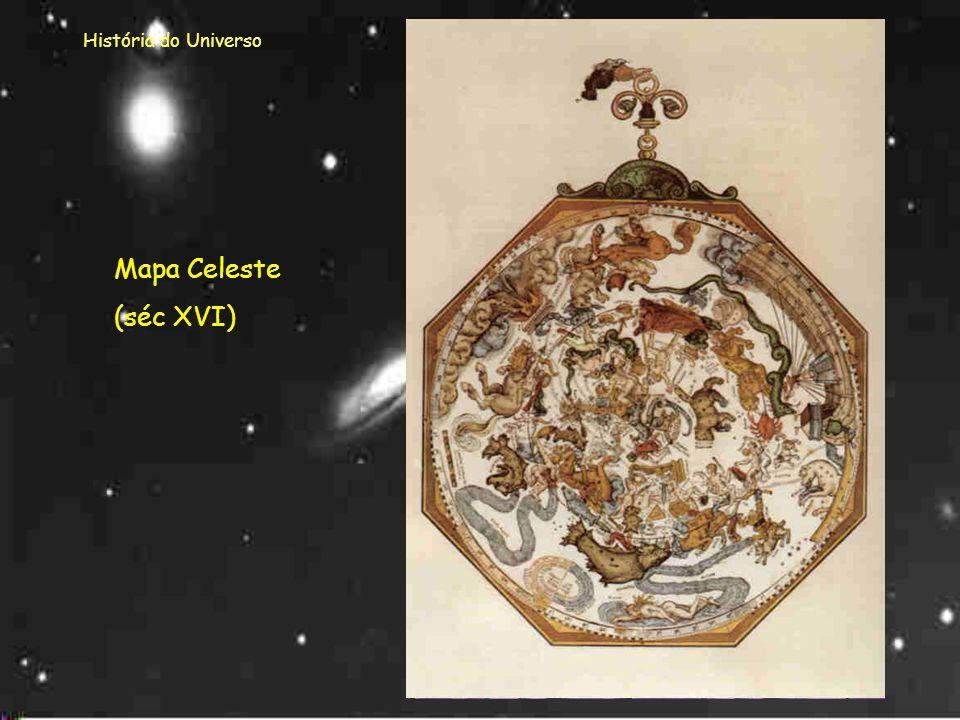 História do Universo Mapa Celeste (séc XVI)