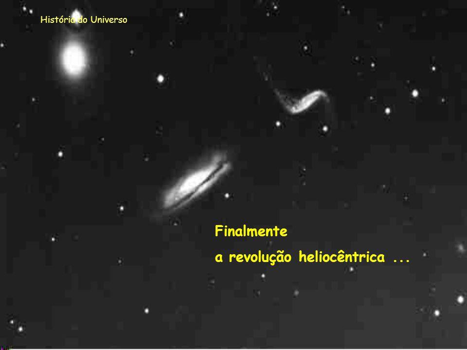a revolução heliocêntrica ...