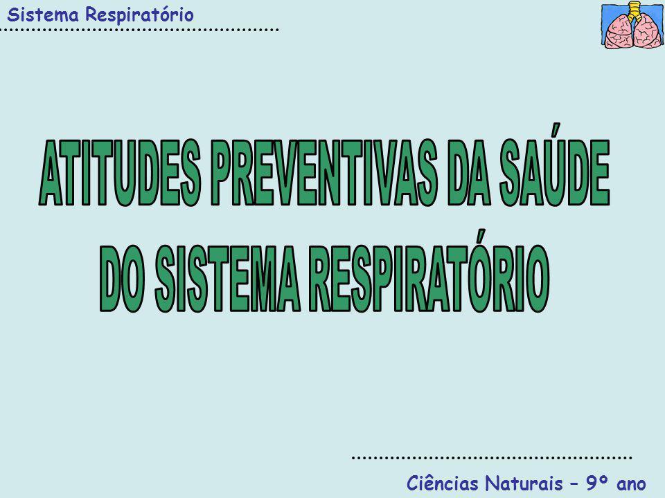 ATITUDES PREVENTIVAS DA SAÚDE DO SISTEMA RESPIRATÓRIO