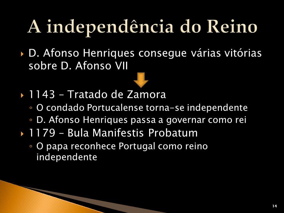 A independência do Reino