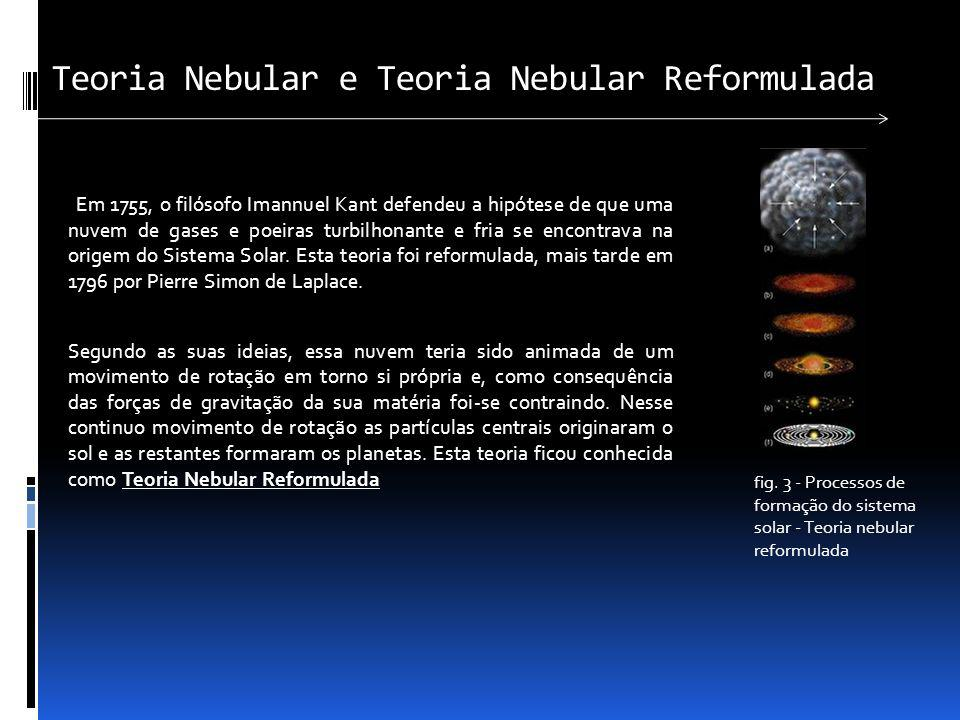 Teoria Nebular e Teoria Nebular Reformulada