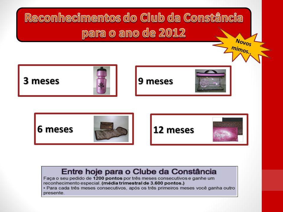 Reconhecimentos do Club da Constância para o ano de 2012