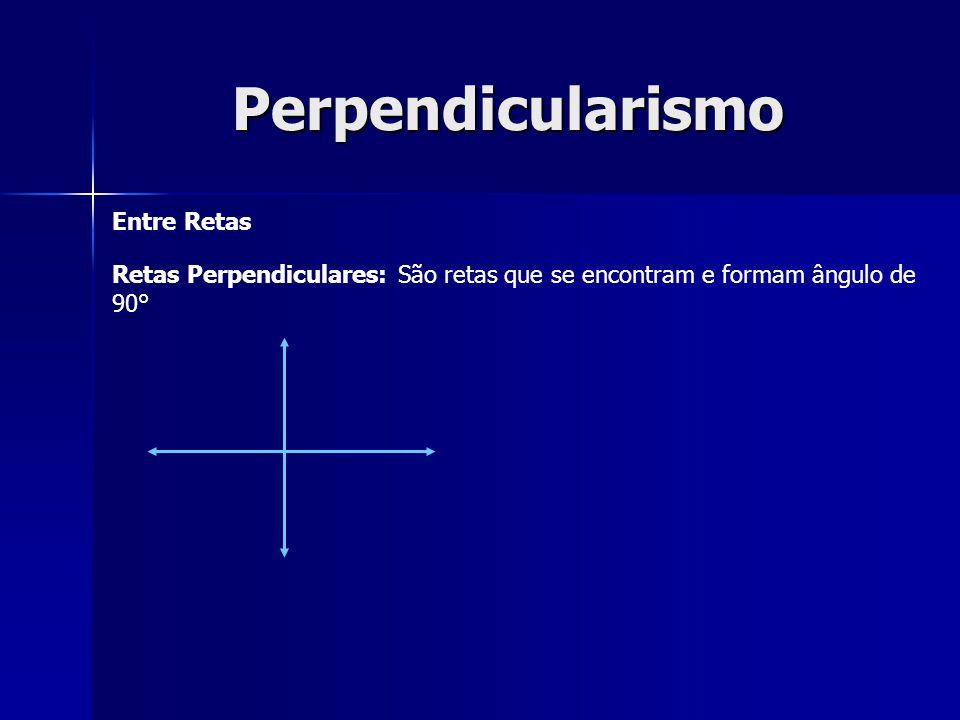 Perpendicularismo Entre Retas