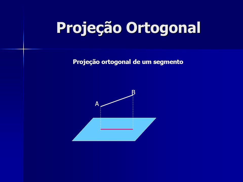 Projeção ortogonal de um segmento