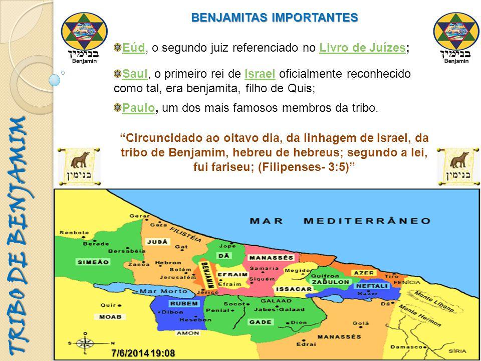 BENJAMITAS IMPORTANTES