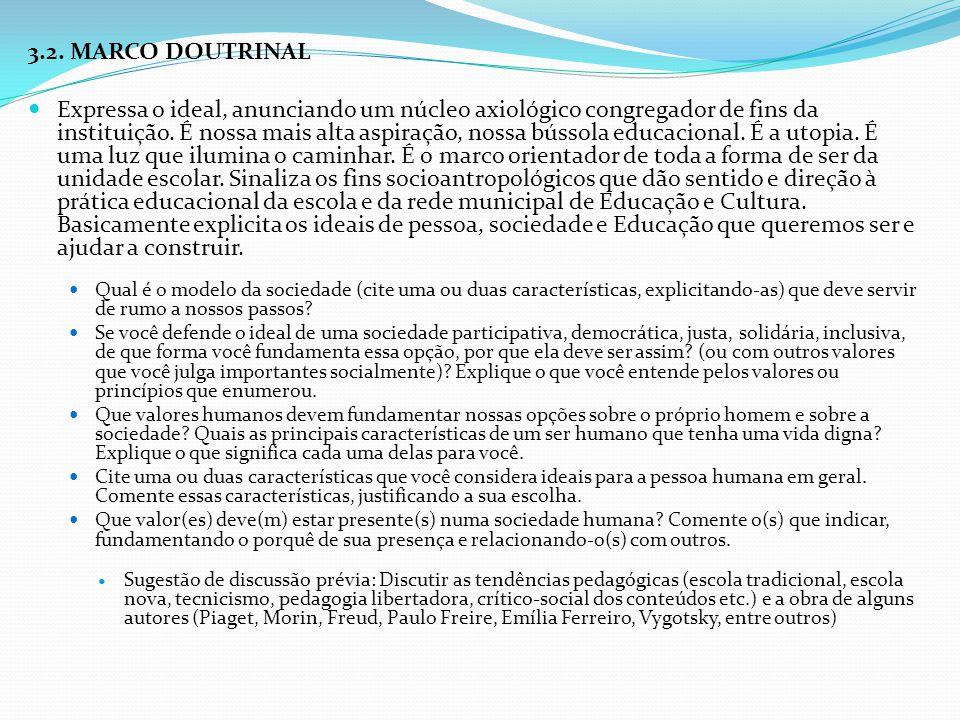 3.2. MARCO DOUTRINAL
