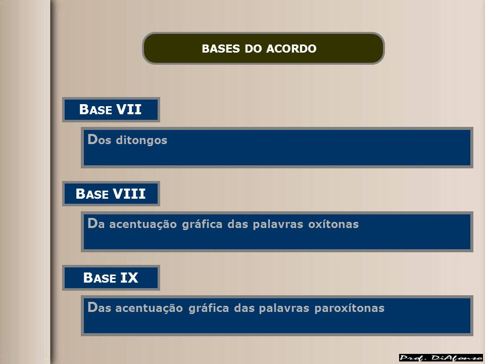 BASE VII BASE VIII BASE IX