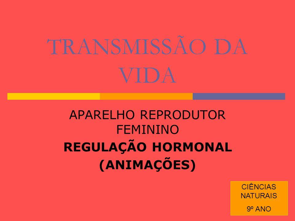 APARELHO REPRODUTOR FEMININO REGULAÇÃO HORMONAL (ANIMAÇÕES)