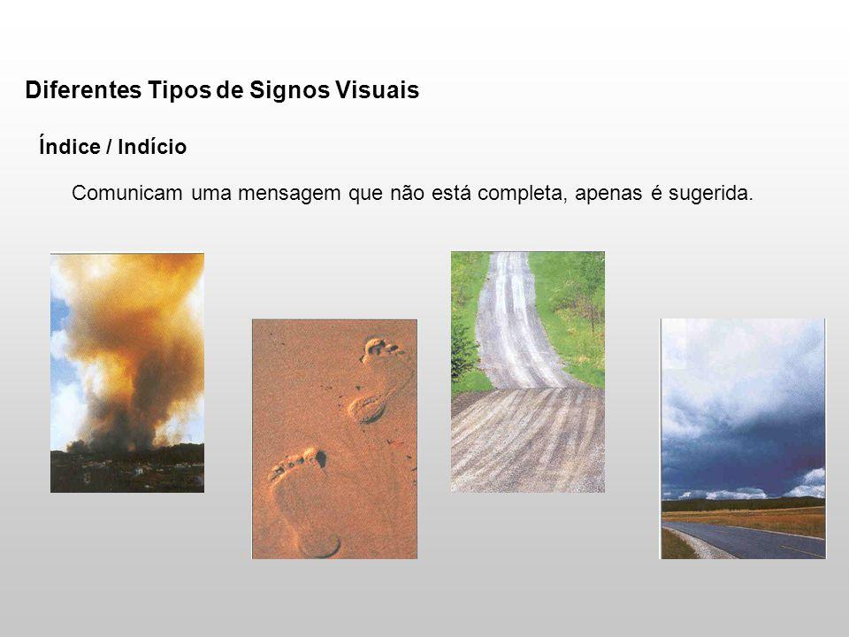 Diferentes Tipos de Signos Visuais