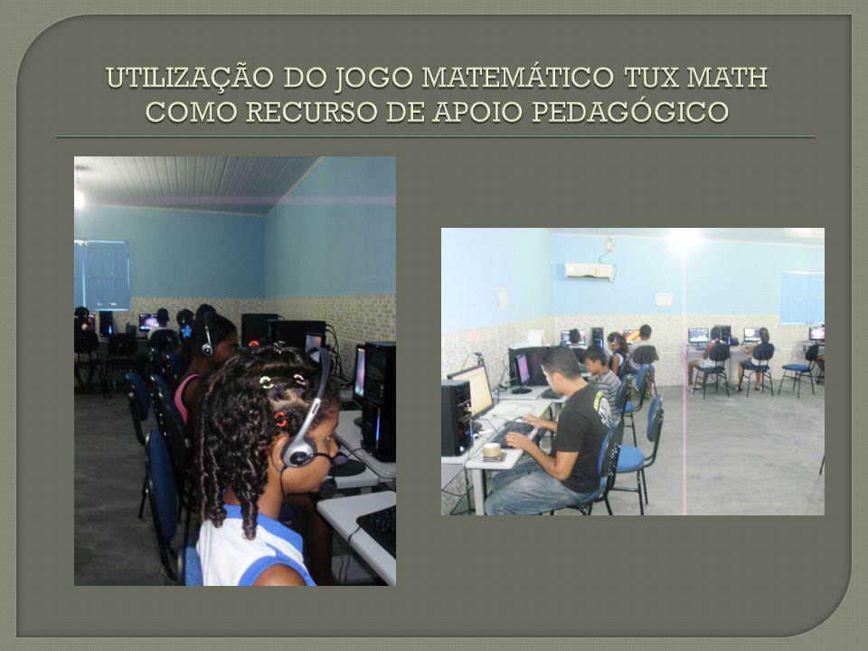 UTILIZAÇÃO DO JOGO MATEMÁTICO TUX MATH COMO RECURSO DE APOIO PEDAGÓGICO