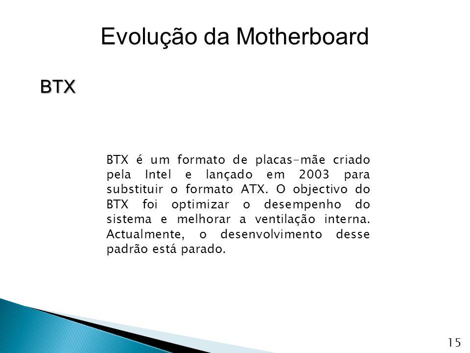 Evolução da Motherboard