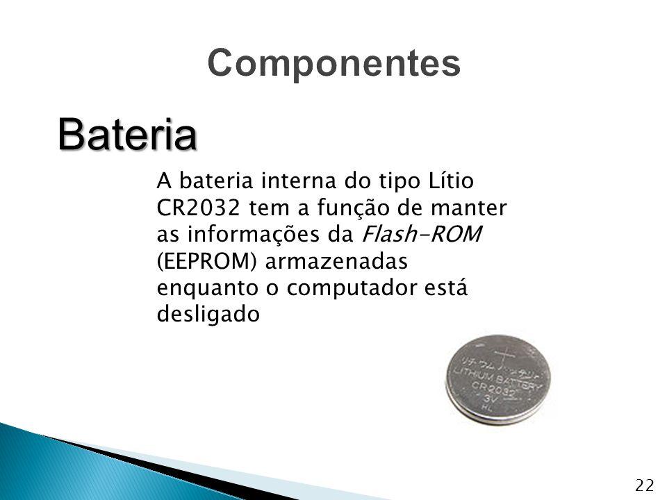 Componentes Bateria.