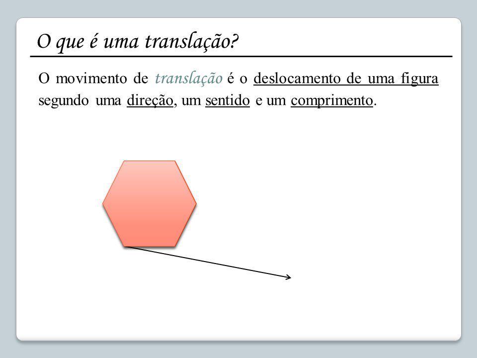 EB 2,3 Poeta Manuel da Silva Gaio Matemática 8ºano Translações