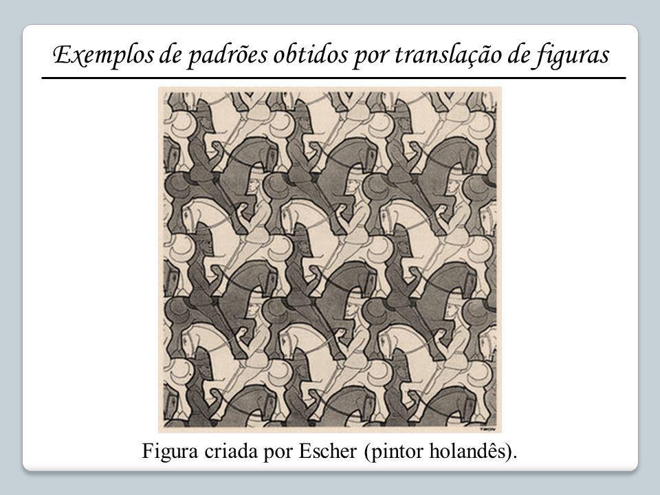 Figura criada por Escher (pintor holandês).