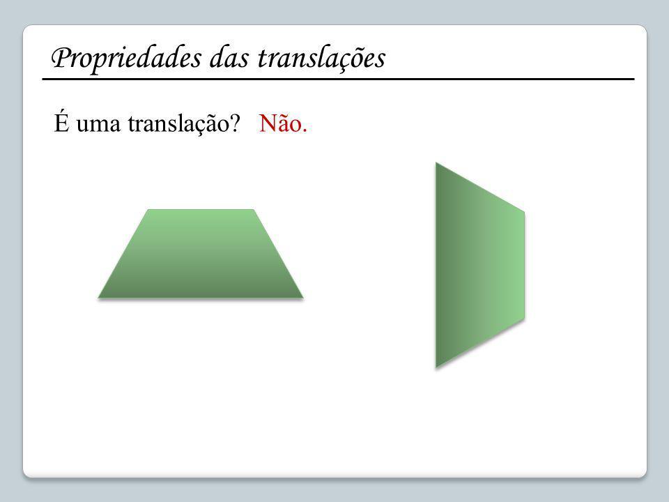 Propriedades das translações