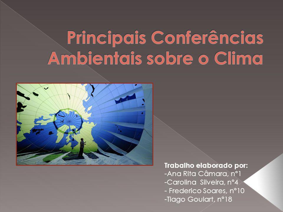 Principais Conferências Ambientais sobre o Clima