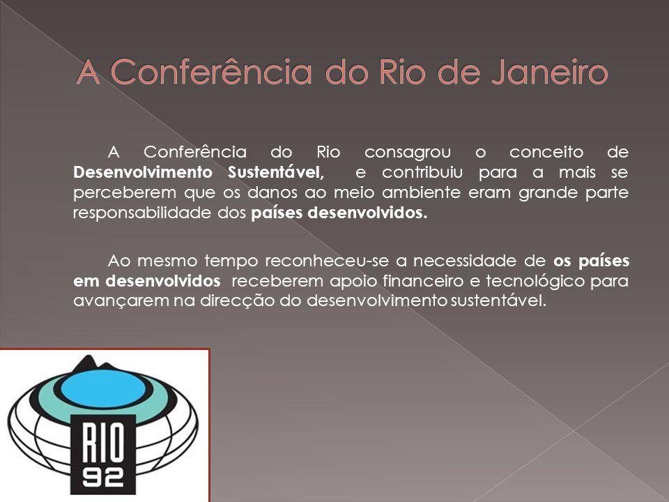 A Conferência do Rio de Janeiro