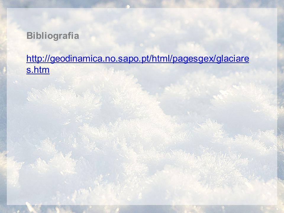 Bibliografia http://geodinamica.no.sapo.pt/html/pagesgex/glaciares.htm