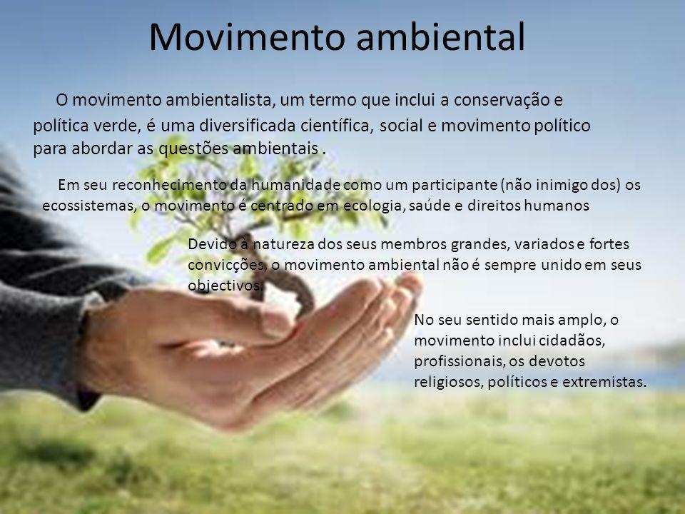 Movimento ambiental