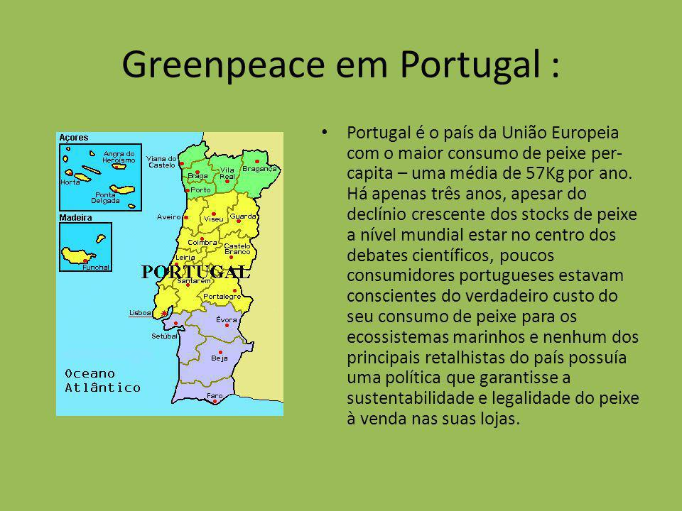Greenpeace em Portugal :