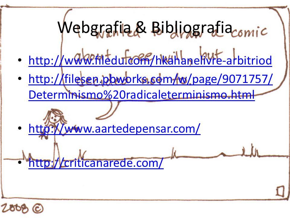 Webgrafia & Bibliografia