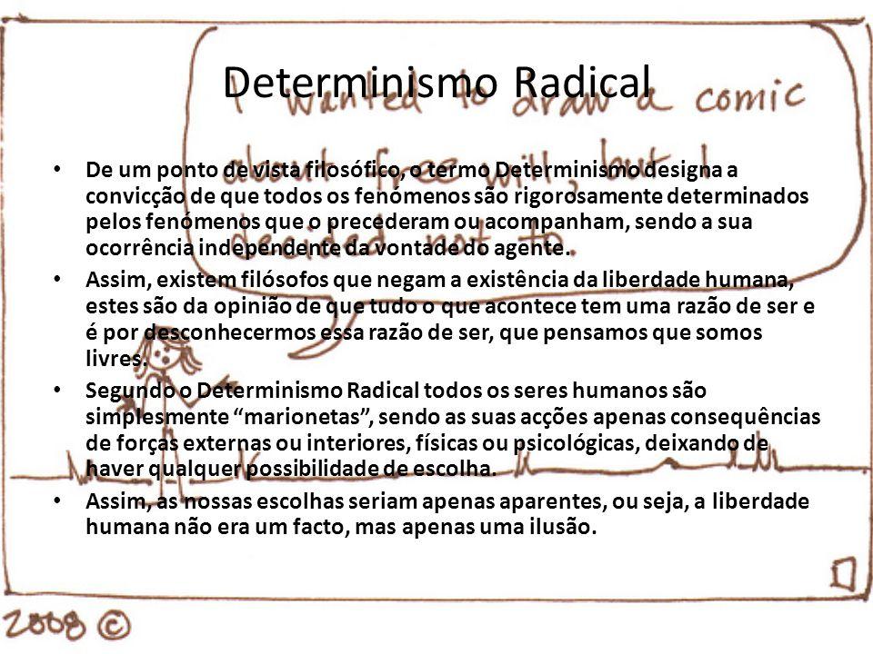 Determinismo Radical