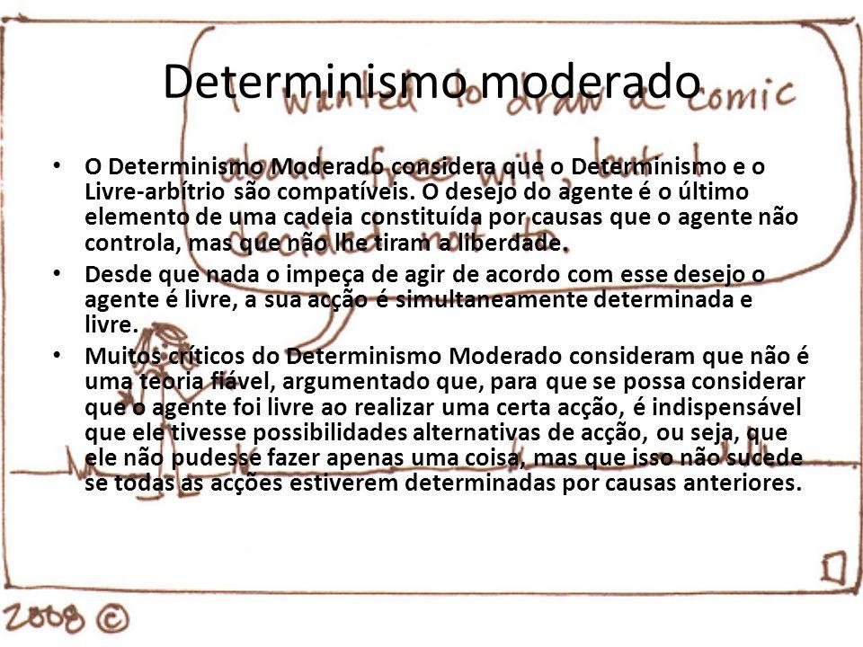Determinismo moderado