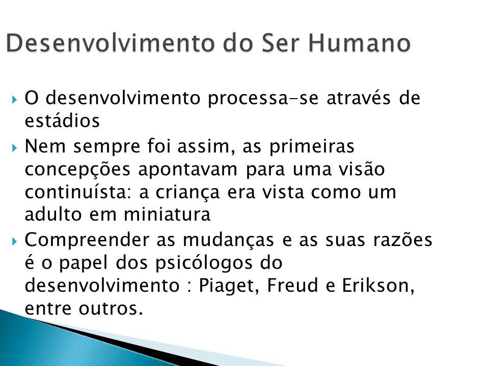 Desenvolvimento do Ser Humano