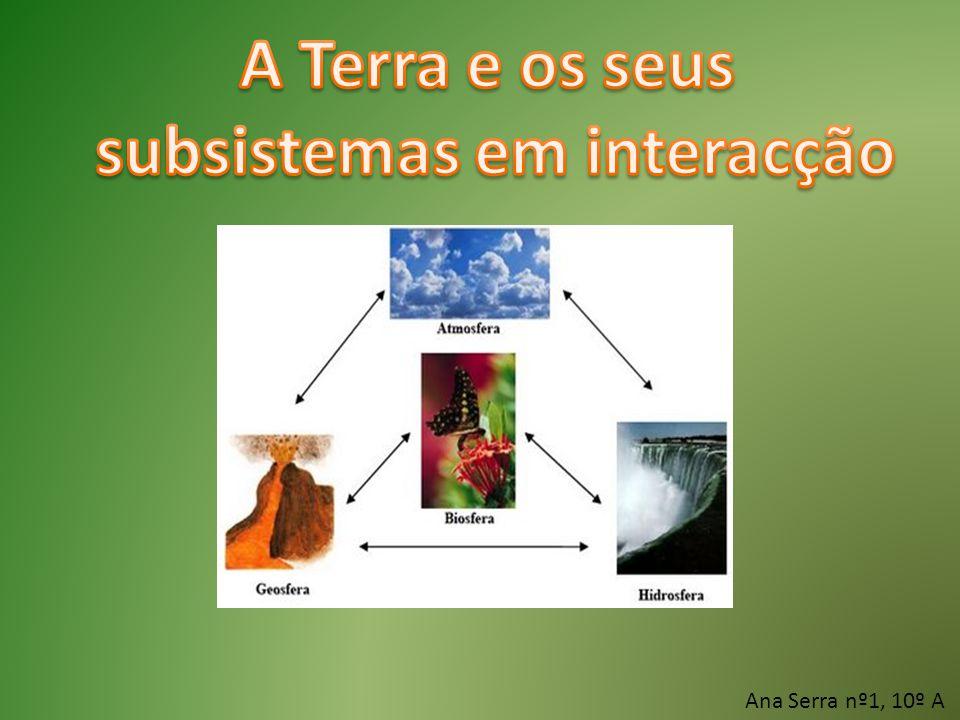 subsistemas em interacção