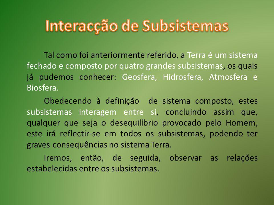 Interacção de Subsistemas