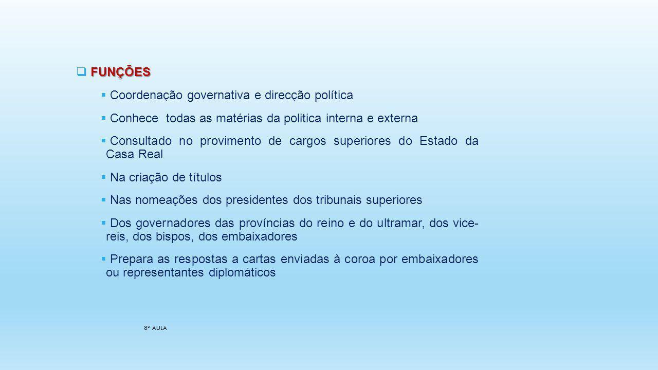 Coordenação governativa e direcção política