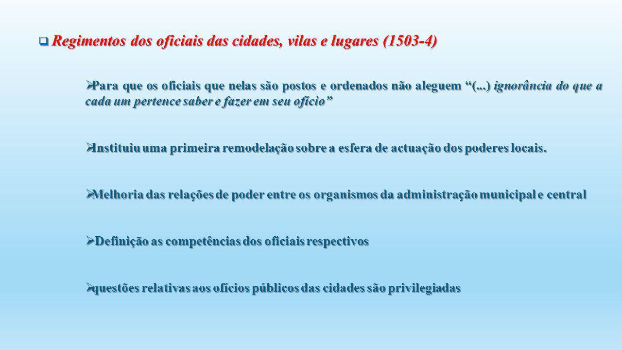 Definição as competências dos oficiais respectivos