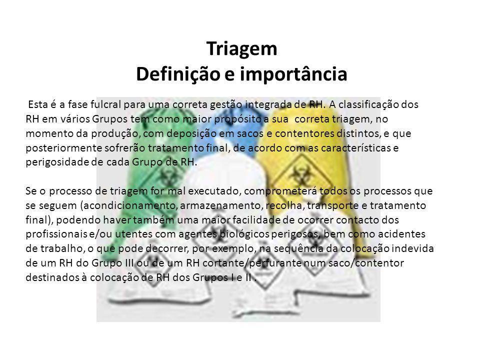 Definição e importância
