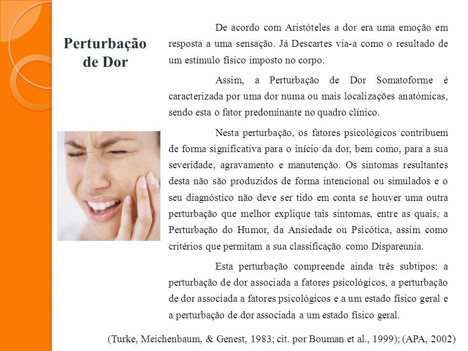 Perturbação de Dor