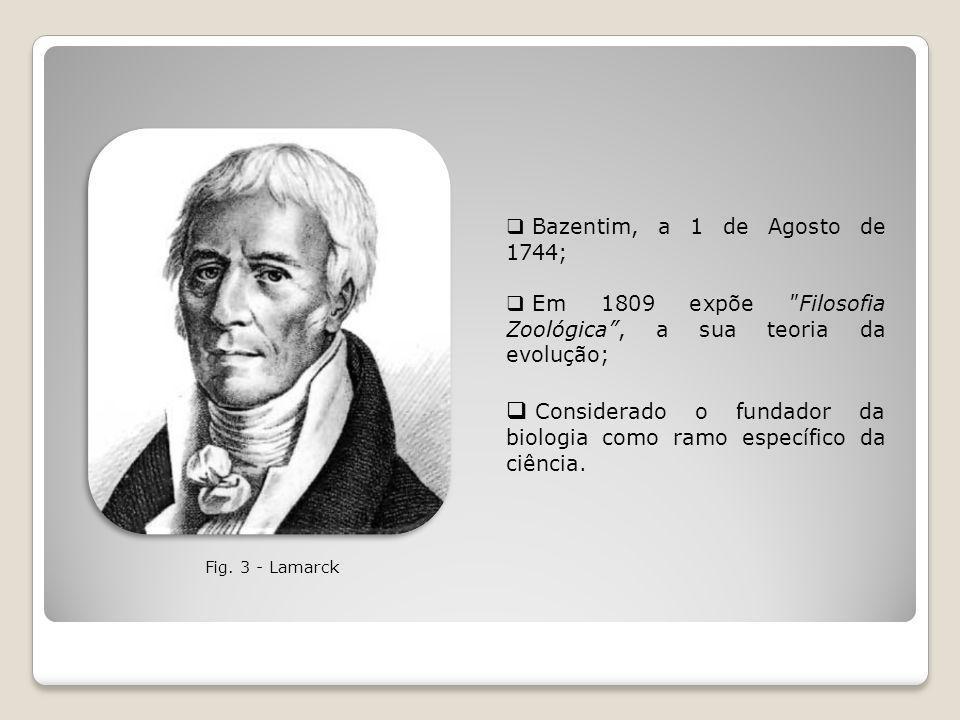 Considerado o fundador da biologia como ramo específico da ciência.