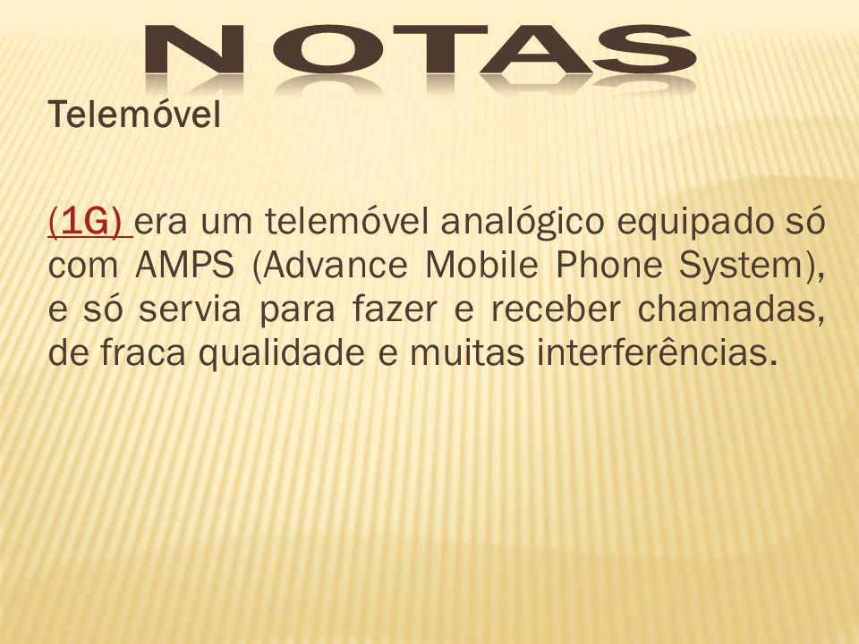 notas Telemóvel.