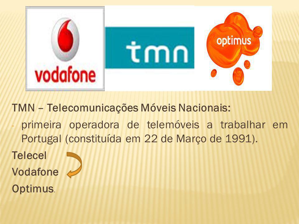 TMN – Telecomunicações Móveis Nacionais: