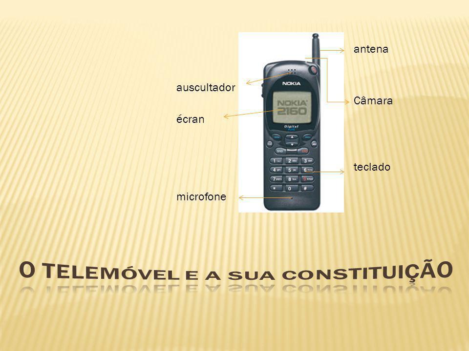 O telemóvel e a sua constituição