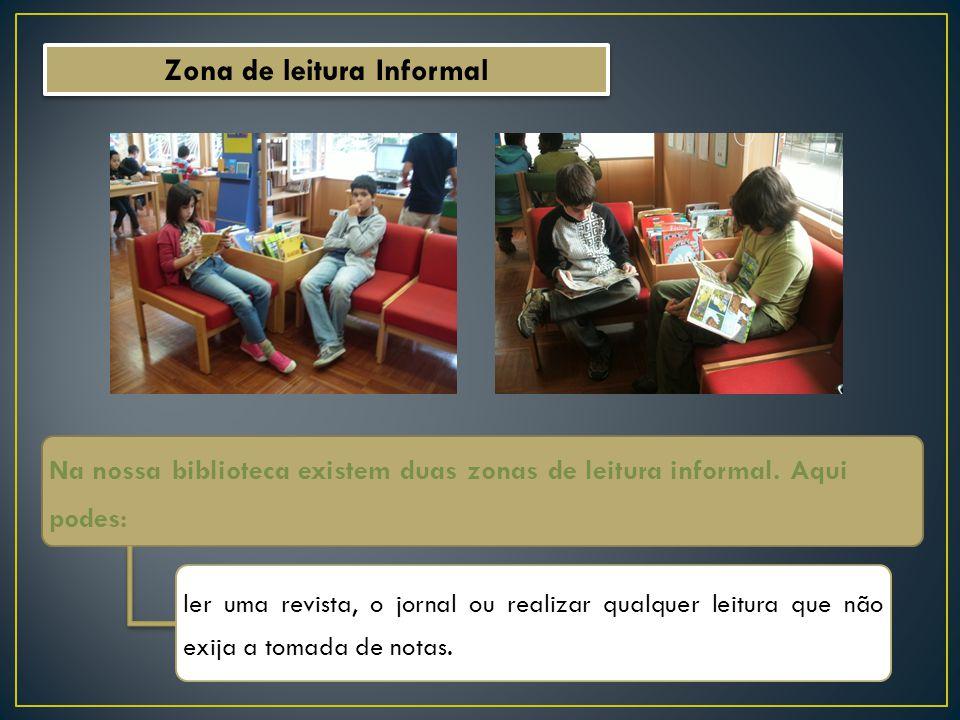 Zona de leitura Informal