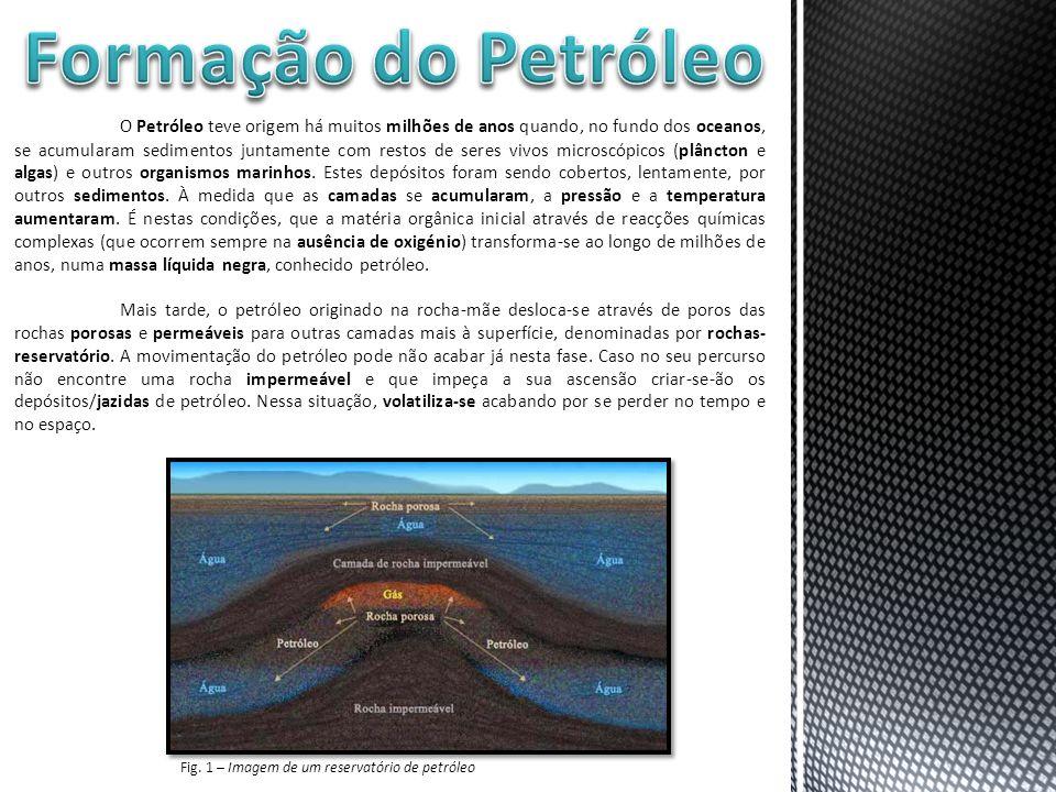 Formação do Petróleo