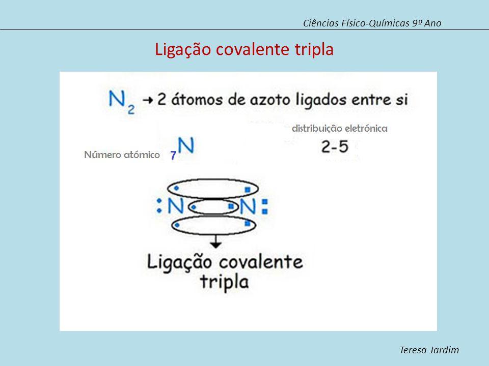 Ligação covalente tripla