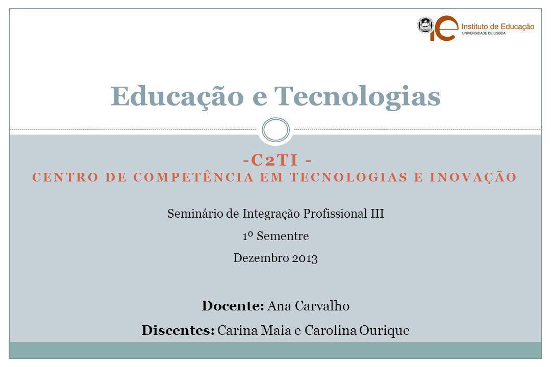 Educação e Tecnologias