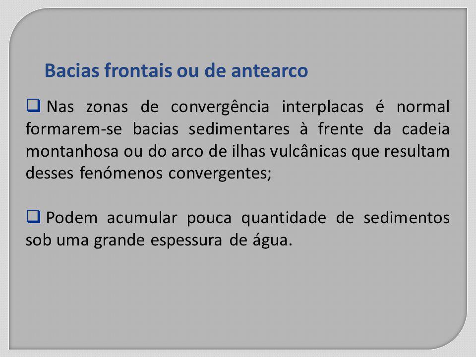 Bacias frontais ou de antearco